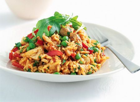 Spanish Chicken Stir-fry (Low GI)