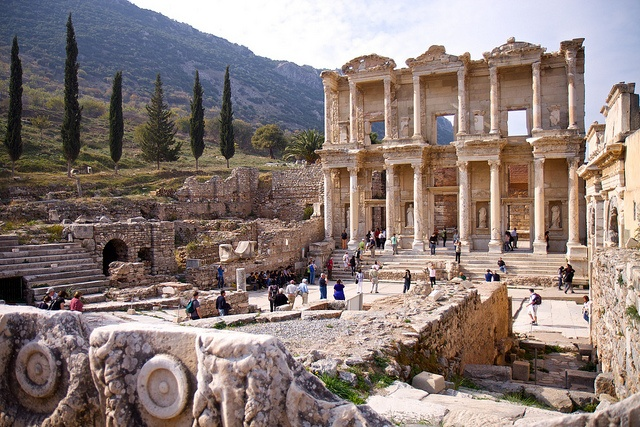 Image result for Ruins of Ephesus