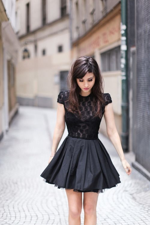 little black dress, would be perfect with LBD safe secret outlast clear.