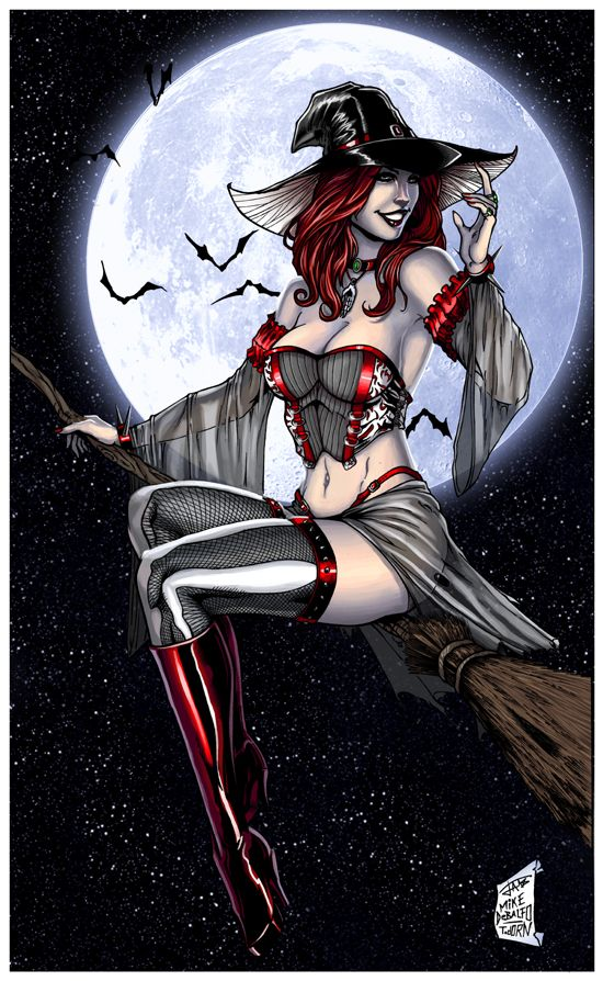grimm halloween cg by
