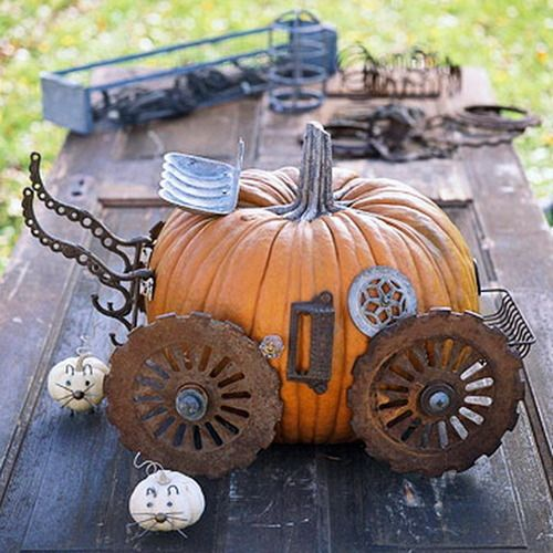 No Carve Pumpkin Decorating Ideas   Elitflat All Things Katie Marie 60 No Carve Pumpkin Decorating Ideas