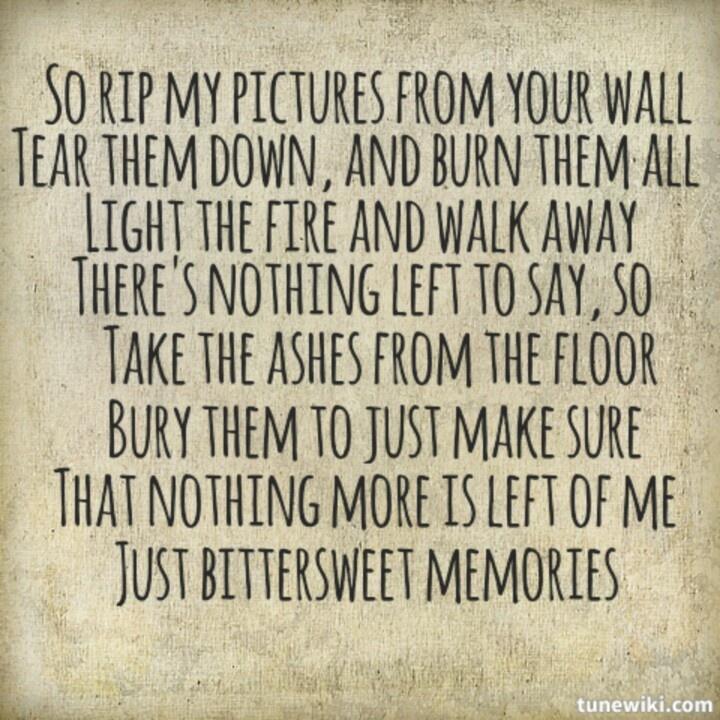 Bittersweet Memories Quotes QuotesGram
