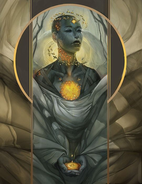 Inner Peace by Julie Dillon
