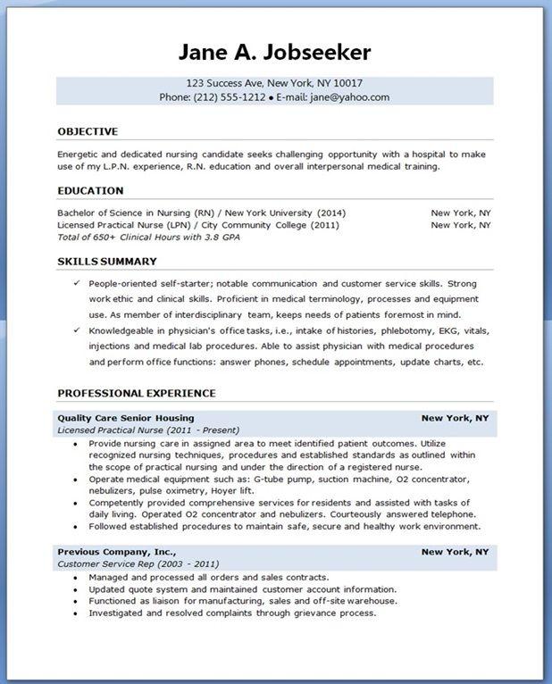 Resume For Graduate School Nursing. A Seeking A New Position Can