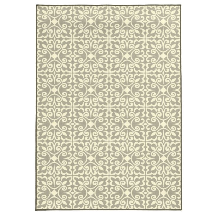 Shop Oriental Weavers of America Keegan 5-ft 3-in x 7-ft 6-in Rectangular Transitional Area Rug at Lowes.com $49.98