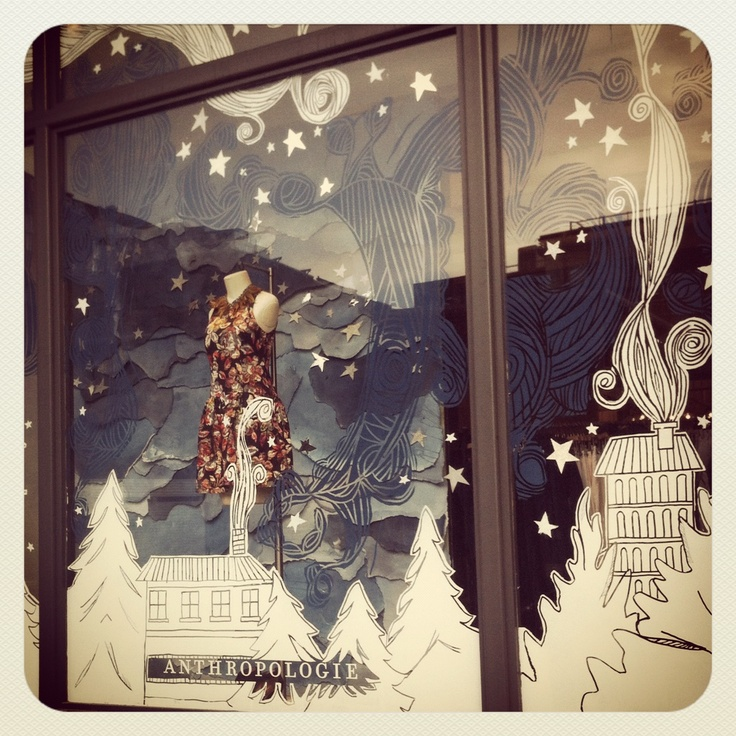 It would be cool to do this to my window for winter