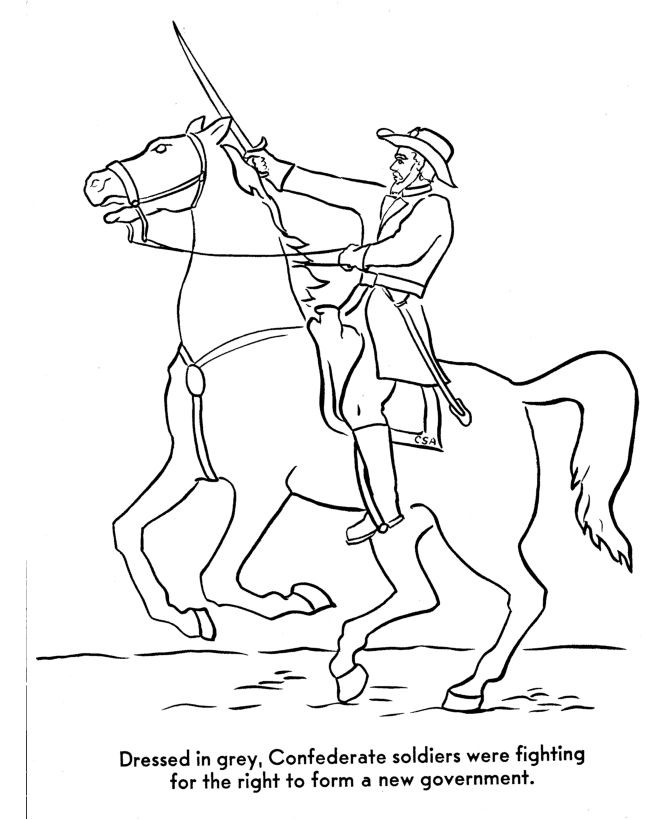 civil war flags coloring pages hicoloringpages