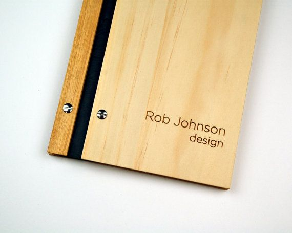 designer lookbook photograph album engraved w