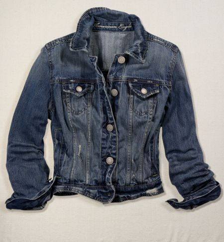 denim jacket over summer dresses during spring
