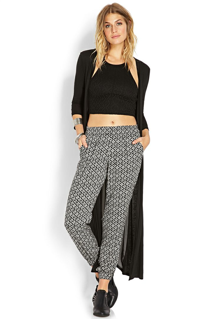 Hollywood Regency Joggers | FOREVER21 - 2000107522