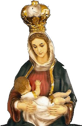 Our Lady La Leche [Pinterest.com image] Our Lady of the Milk