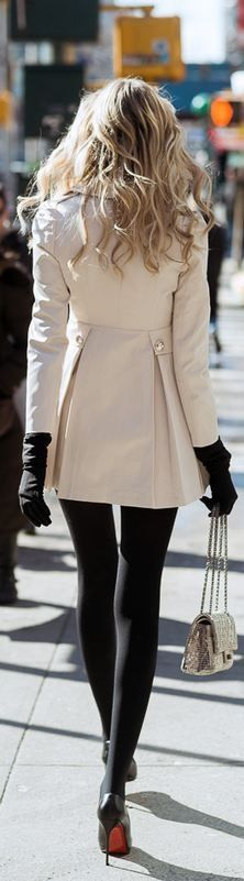 Trench Coat: Romwe Bag: Chanel Heels: Christian Louboutin.