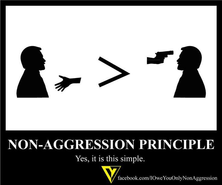 Image result for non-aggression principle