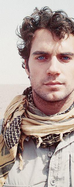 Oh my those blue eyes
