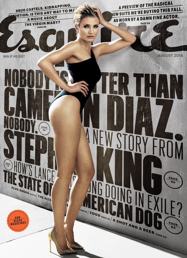 Esquire Cover - Cameron Diaz