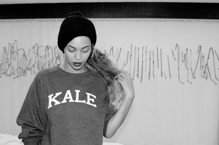Beyoncé <3 Kale