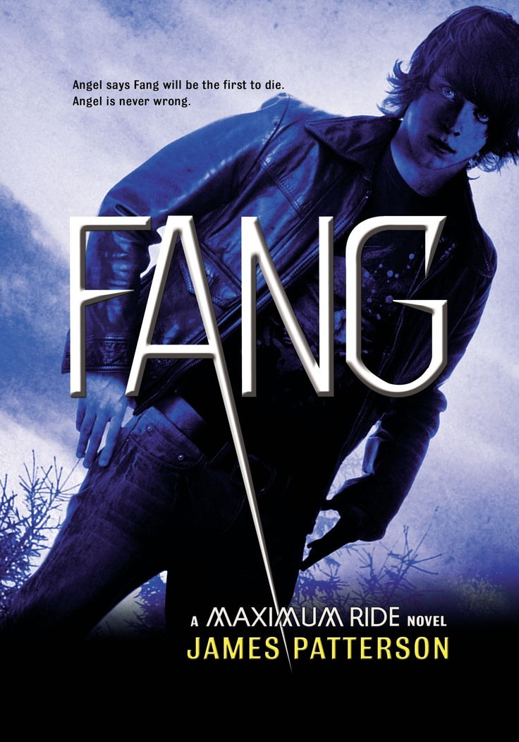 Cover art for FANG, the sixth book in the Maximum Ride series.