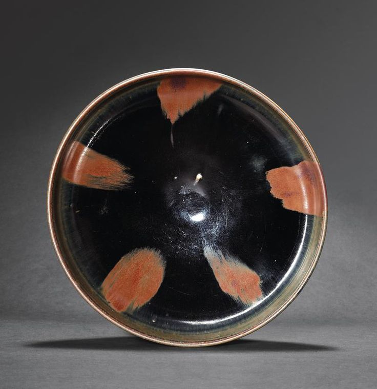 A Fine black-Glazed Bowl,  Jin-Yuan Dynasty