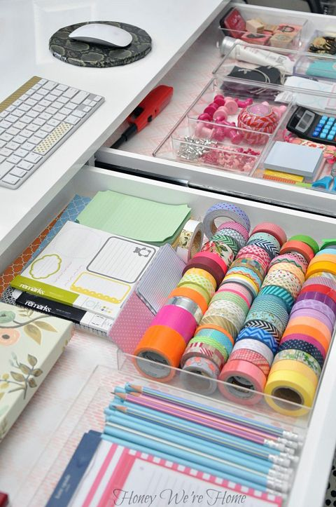 A Delightfully Organized Desk