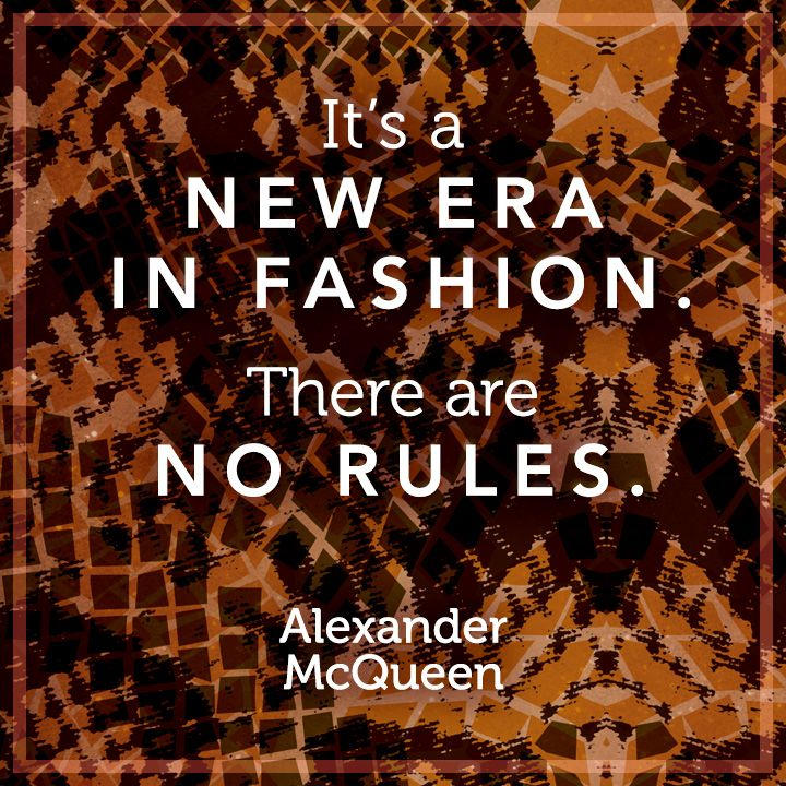 """It's a new era in fashion. There are no rules."" -Alexander McQueen #Incoco shade: Copperhead Untamed #nails #fashion #beauty #quotes"