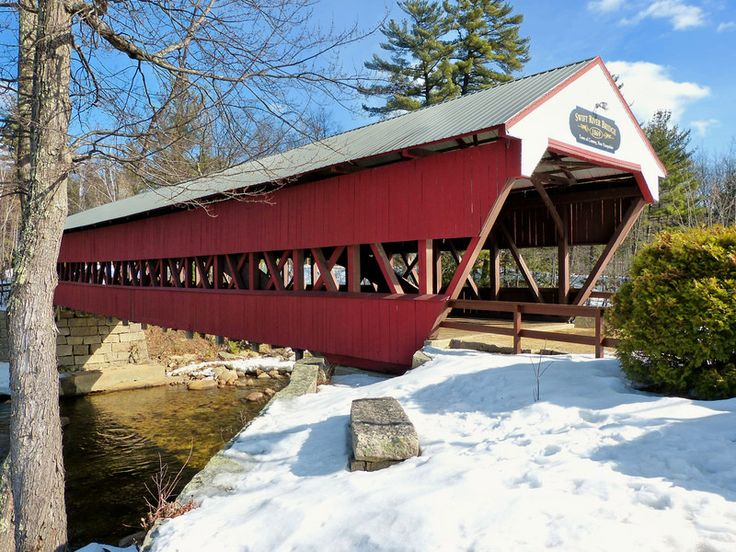 Image result for conway, nh swift river covered bridge