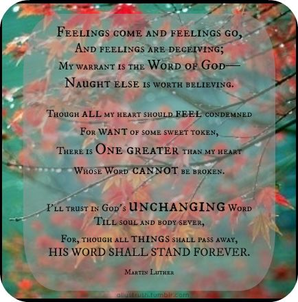 Image result for feelings scripture
