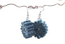 Upcycled Denim Earrings | JeansWeaver