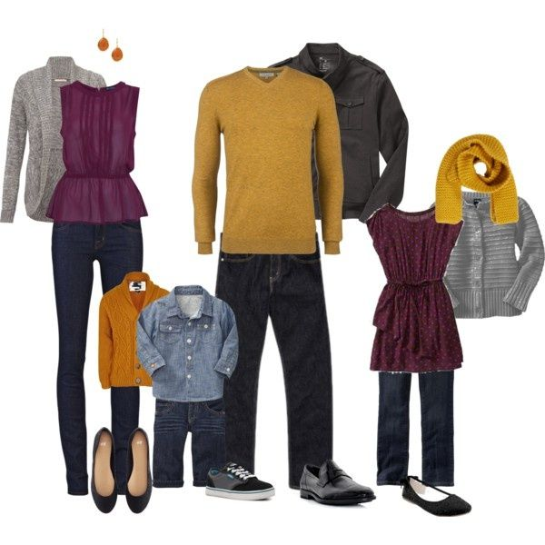 Like these colors....Family Photo What to Wear | What to Wear | Family by archandbeau on ... | What to wear for your s ...