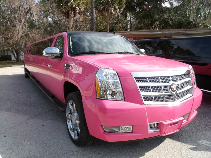 Pink WoW Cadillac Escalade Limousine Miami image