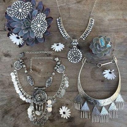 Boho Style Jewelry #boho #ethnic #bijoux