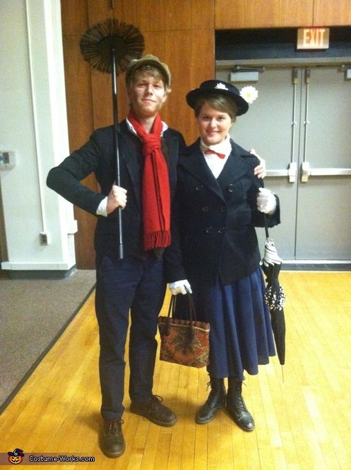 Mary Poppins and Bert - Costume Works