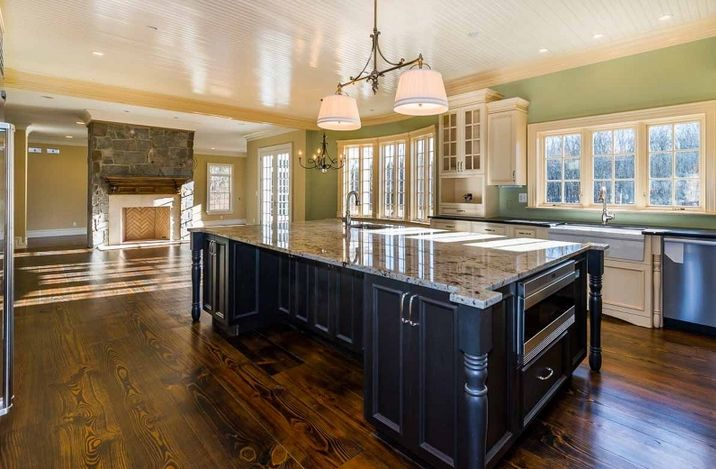 17 Delightful Extra Large Kitchen Islands House Plans
