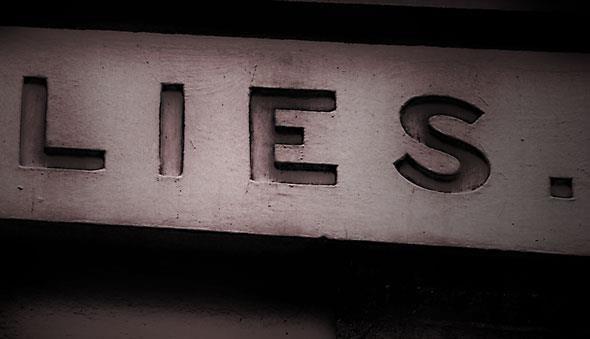 lies sign
