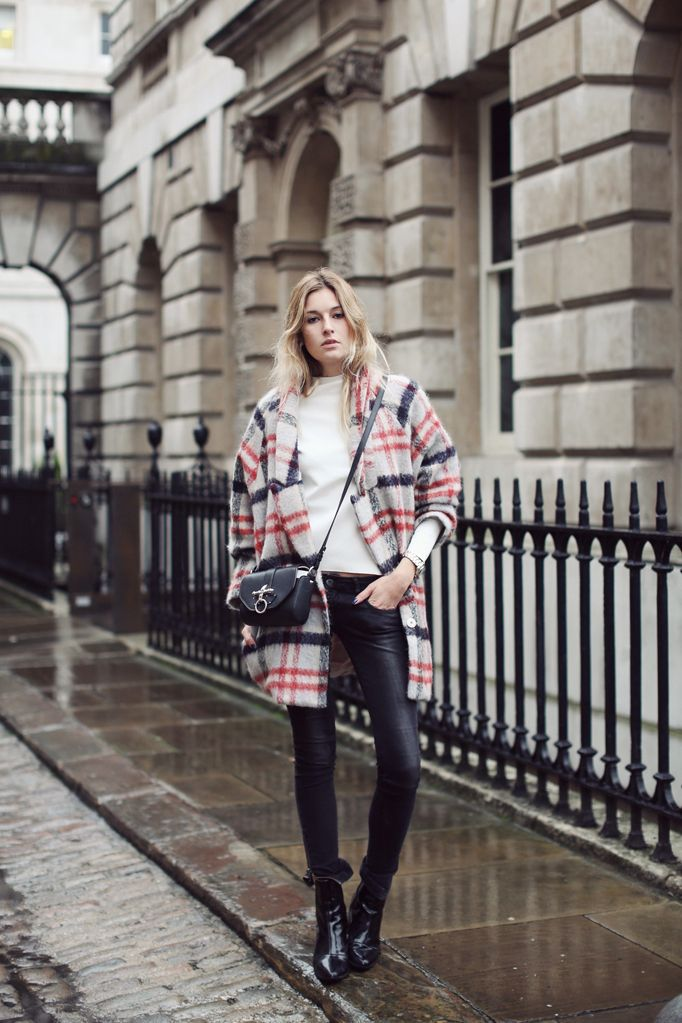 plaid coat | It List