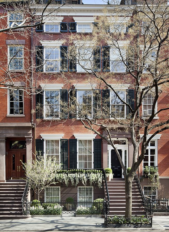 Delightful Weekend: Happy Easter! Greenwich Village Townhouse by Sawyer Berson