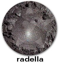 Radella- A mid-toned heathery grey with rose and gold iridescence and bright sparks of blue. #aromaleigh #lostinfaerie