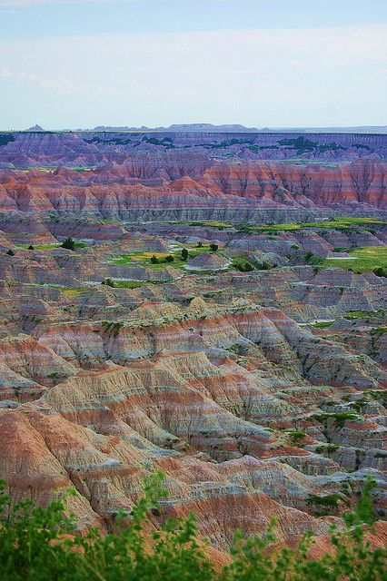 The Badlands, South Dakota...