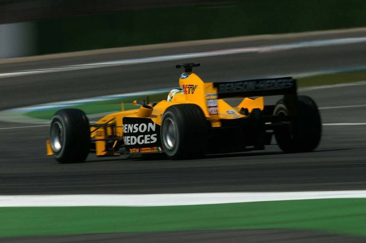 Giancarlo Fisichella - Jordan - 2003 - Formula 1