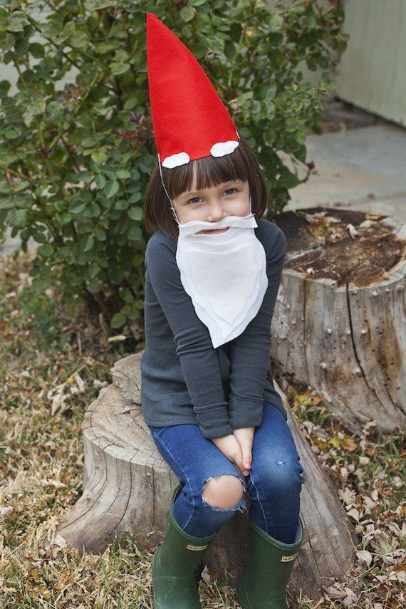Ten minute gnome costume. #halloween #costume
