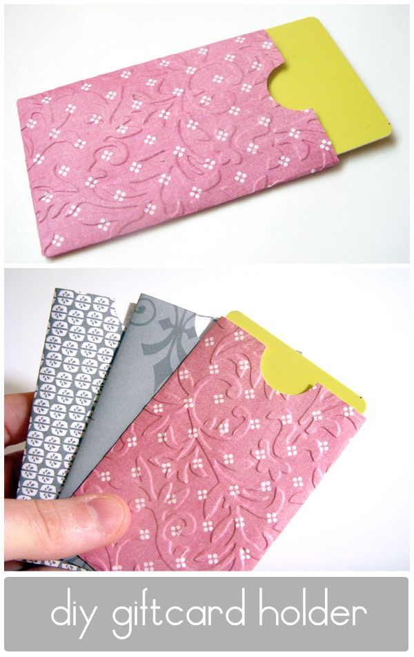 gift card holder templates!