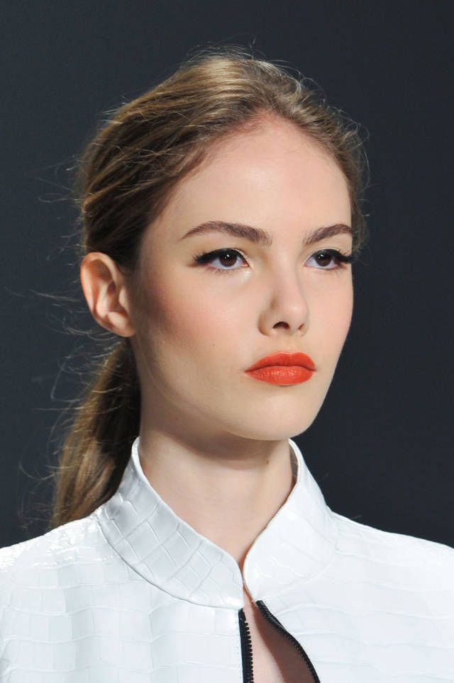 Spring 2014 Makeup Trends - The Best Makeup Looks from Spring 2014 Fashion Week - Harper's BAZAAR-perfect work makeup.
