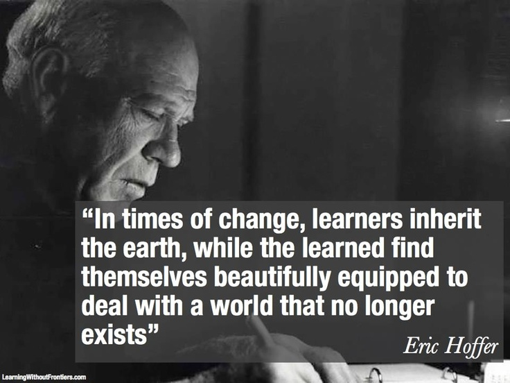 Image result for eric hoffer and the true believer