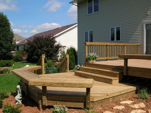 Bi Level Porch Designs