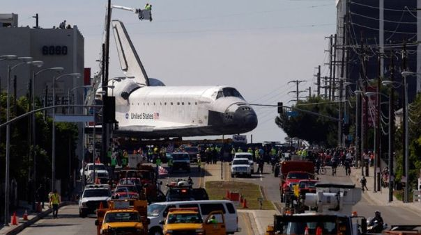 Image result for los angeles the space shuttle pictures