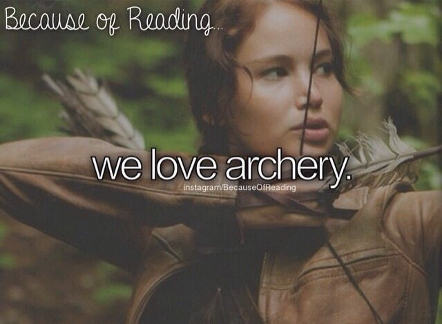 I actually do archery -Shailene