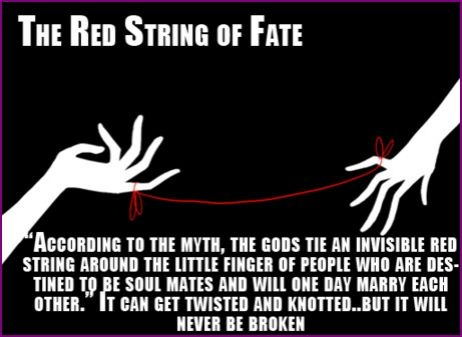 Red string of fate chinese