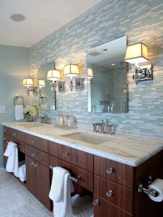 Cheap black bathroom tiles. tendencias en baños 2015. contemporary ...