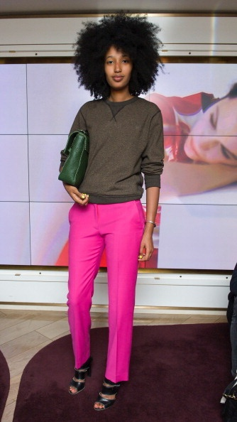 I so love this look especially the pink pants!