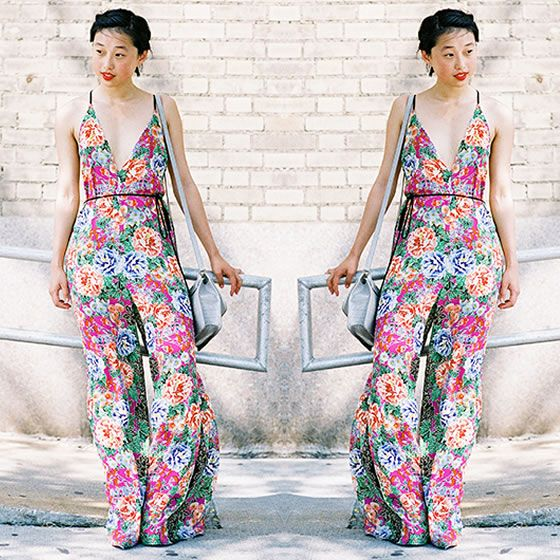#stealthelook #look #looks #streetstyle #streetchic #moda #fashion #style #estilo #inspiration #inspired #bolsa #macacao #Jumpsuit #flower #overall