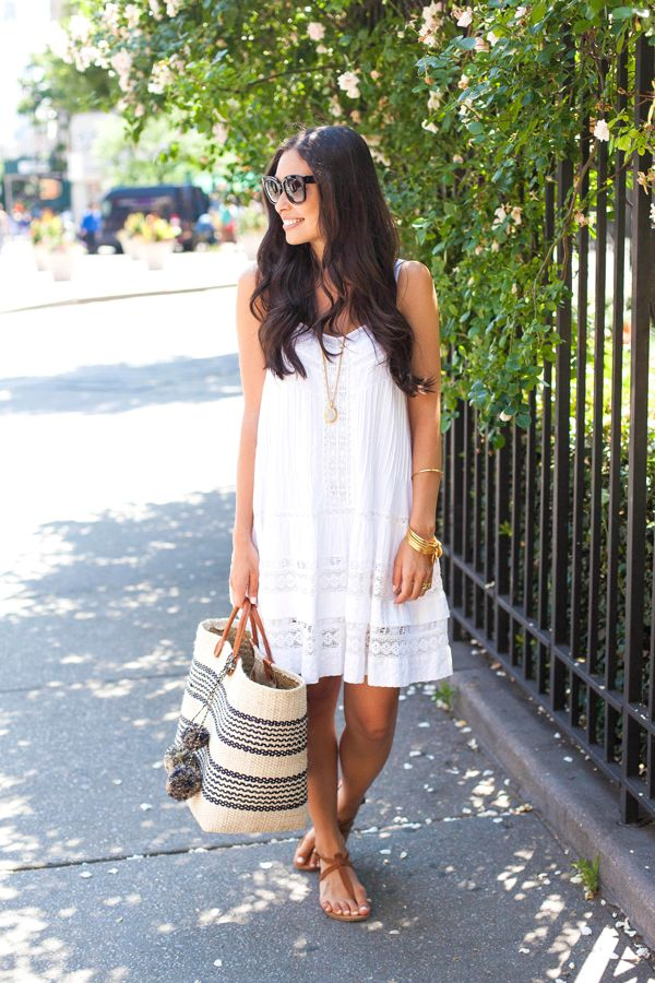 White Lace Sundress - With Love From Kat